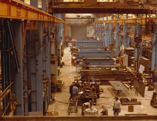 Hewitt Robins - Glasgow Factory in 1989