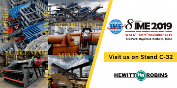 Hewitt Robins to exhibit at IME 2019