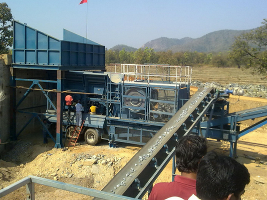 Mobile Jaw Crusher by Hewitt Robins International