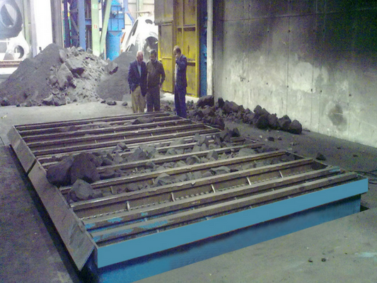 Non Discharging Foundry Shakeout by Hewitt Robins