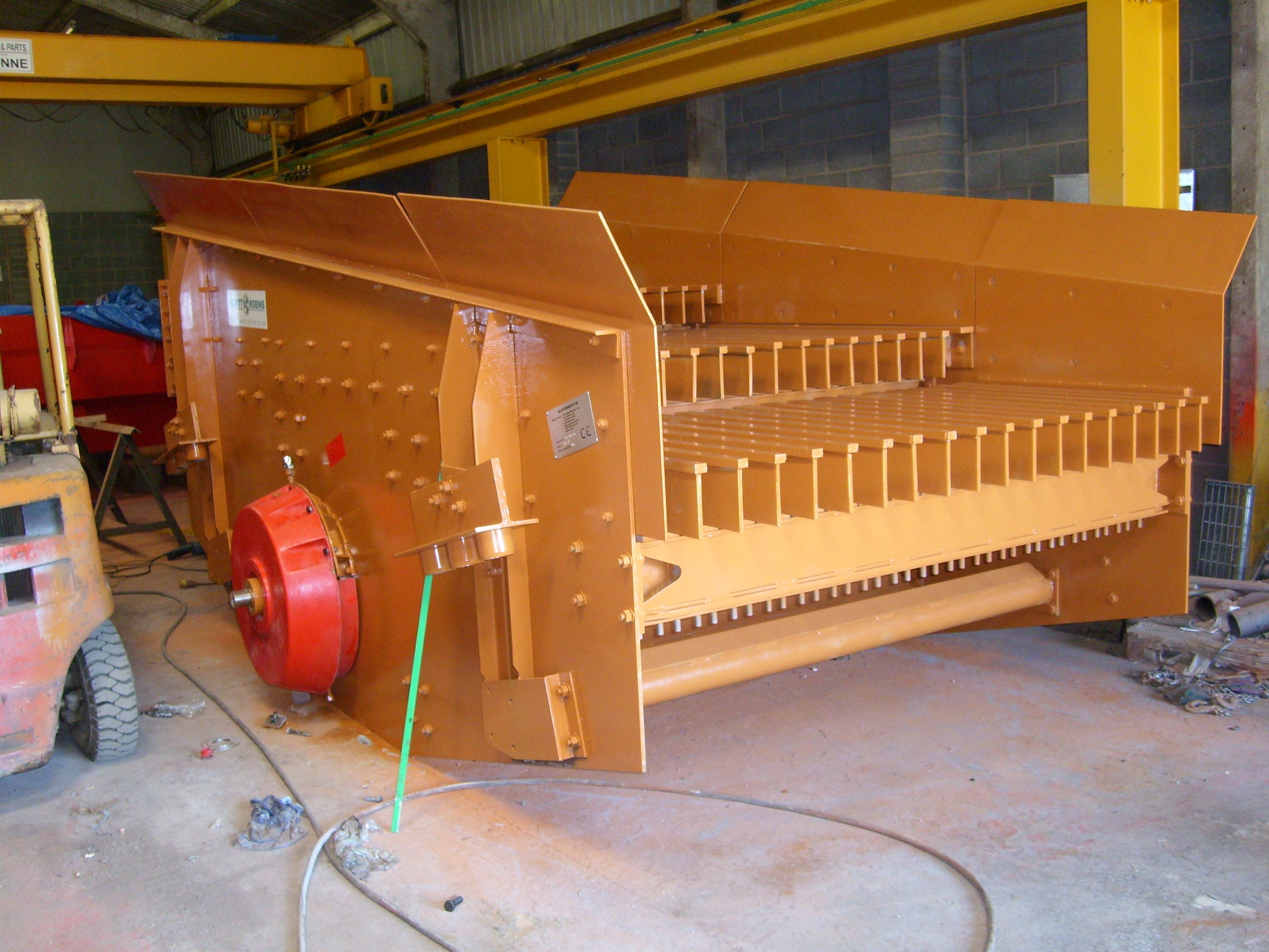 Scalping Screens by Hewitt Robins International